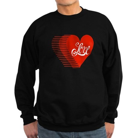 Love Heart Sweatshirt (dark)
