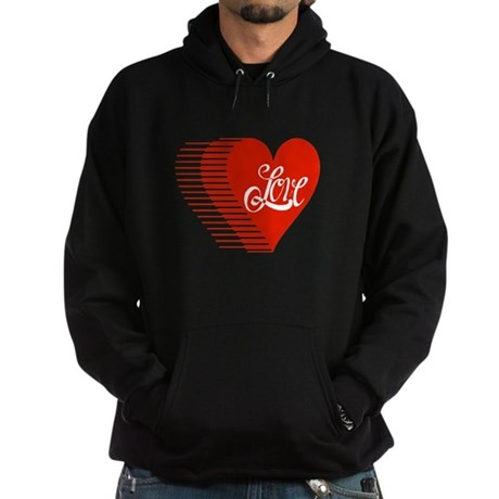 Love Heart Hoodie (dark)
