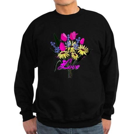 Love Bouquet Sweatshirt (dark)