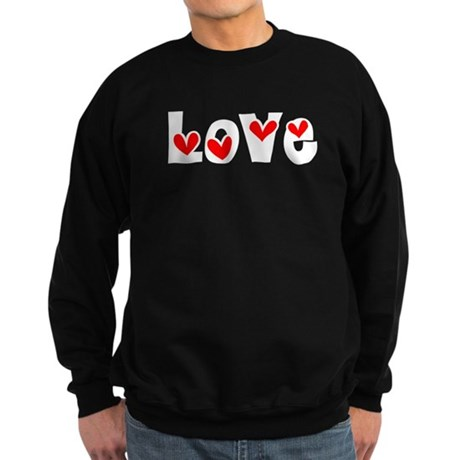 Love Sweatshirt (dark)