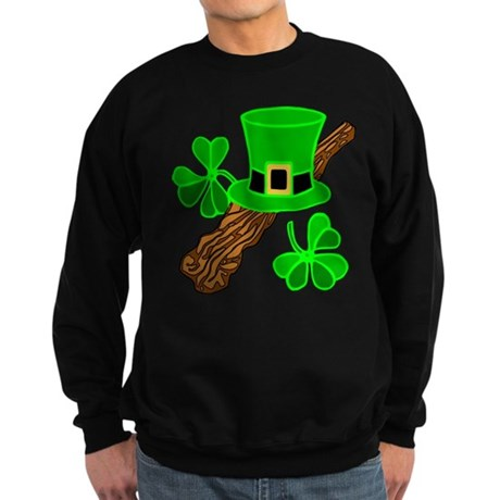 Leprechaun Hat Sweatshirt (dark)