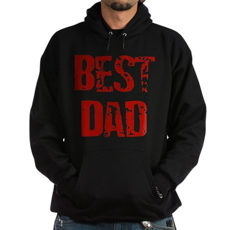 Father's Day Best Dad Hoodie (dark)