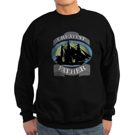 Greatest Father Sweatshirt (dark)