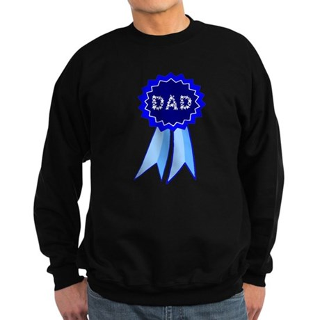 Dad's Blue Ribbon Sweatshirt (dark)
