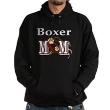 Boxer Dog Mom Gifts Hoodie