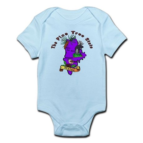 """Maine Pride"" Infant Bodysuit"
