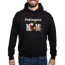 Pekingese Mom Hoodie
