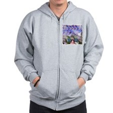 Rapture Under Elder Sky Zip Hoodie