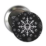 Skullflake (dark) 2.25&quot; Button