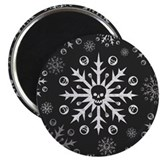 Skull 2.25&quot; Round Magnet