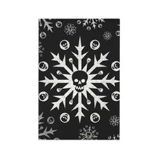 Skullflake (dark) Rectangle Magnet (10 pack)