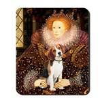 Queen / Beagle (#1) Mousepad