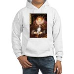 Queen / Beagle (#1) Hooded Sweatshirt