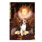 Queen / Beagle (#1) Postcards (Package of 8)