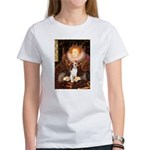 Queen / Beagle (#1) Women's T-Shirt
