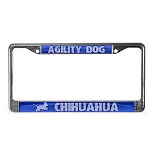 Agility Chihuahua License Plate Frame