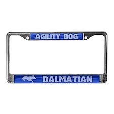 Agility Dalmatian License Plate Frame