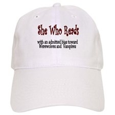 She Reads Baseball Cap