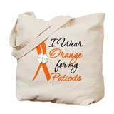 I Wear Orange For My Patients Tote Bag