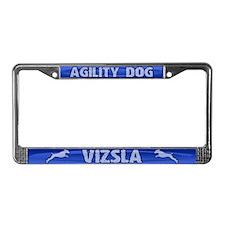 Agility Vizsla License Plate Frame