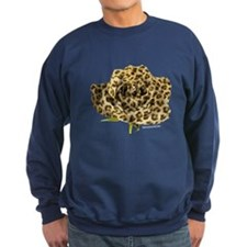 Leopard Rose Sweatshirt