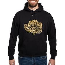 Leopard Rose Hoodie