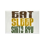 Eat Sleep Shito Ryu Rectangle Magnet