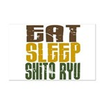 Eat Sleep Shito Ryu Mini Poster Print