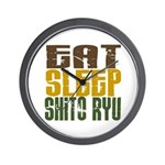 Eat Sleep Shito Ryu Wall Clock