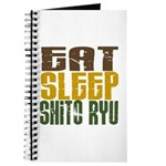 Eat Sleep Shito Ryu Journal