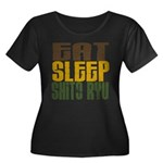 Eat Sleep Shito Ryu Women's Plus Size Scoop Neck D