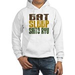 Eat Sleep Shito Ryu Hooded Sweatshirt