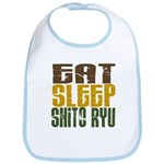 Eat Sleep Shito Ryu Bib