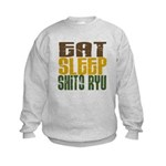 Eat Sleep Shito Ryu Kids Sweatshirt