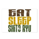 Eat Sleep Shito Ryu Postcards (Package of 8)