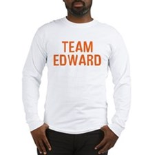 Team Edward (Orange) Long Sleeve T-Shirt