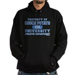Couch Potato University Hoodie (dark)