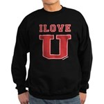 I Love U. Sweatshirt (dark)