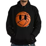 Basketball Smiley Hoodie (dark)