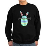 Easter Egg Bunny Sweatshirt (dark)