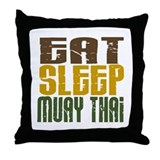 Muay thai Throw Pillows