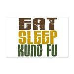 Eat Sleep Kung Fu Mini Poster Print