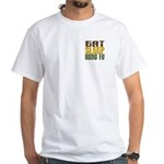 Eat Sleep Kung Fu White T-Shirt