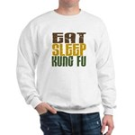 Eat Sleep Kung Fu Sweatshirt