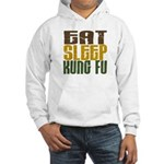 Eat Sleep Kung Fu Hooded Sweatshirt