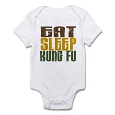 Eat Sleep Kung Fu Infant Bodysuit