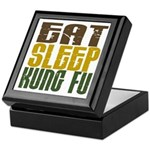 Eat Sleep Kung Fu Keepsake Box