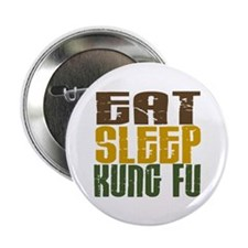 "Eat Sleep Kung Fu 2.25"" Button (10 pack)"