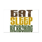 Eat Sleep Kickboxing Mini Poster Print