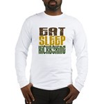 Eat Sleep Kickboxing Long Sleeve T-Shirt